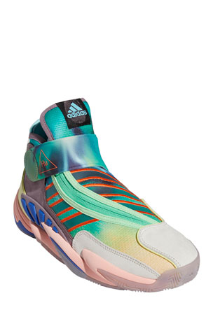 adidas x Pharrell Williams Men's x Pharrell Williams Multicolor Mid-Top Sneakers
