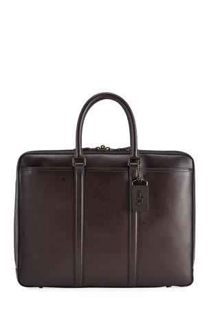 Coach Men's Metro Slim Briefcase