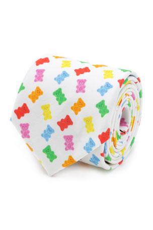 Cufflinks Inc. Men's Gummy Bear Cotton Tie