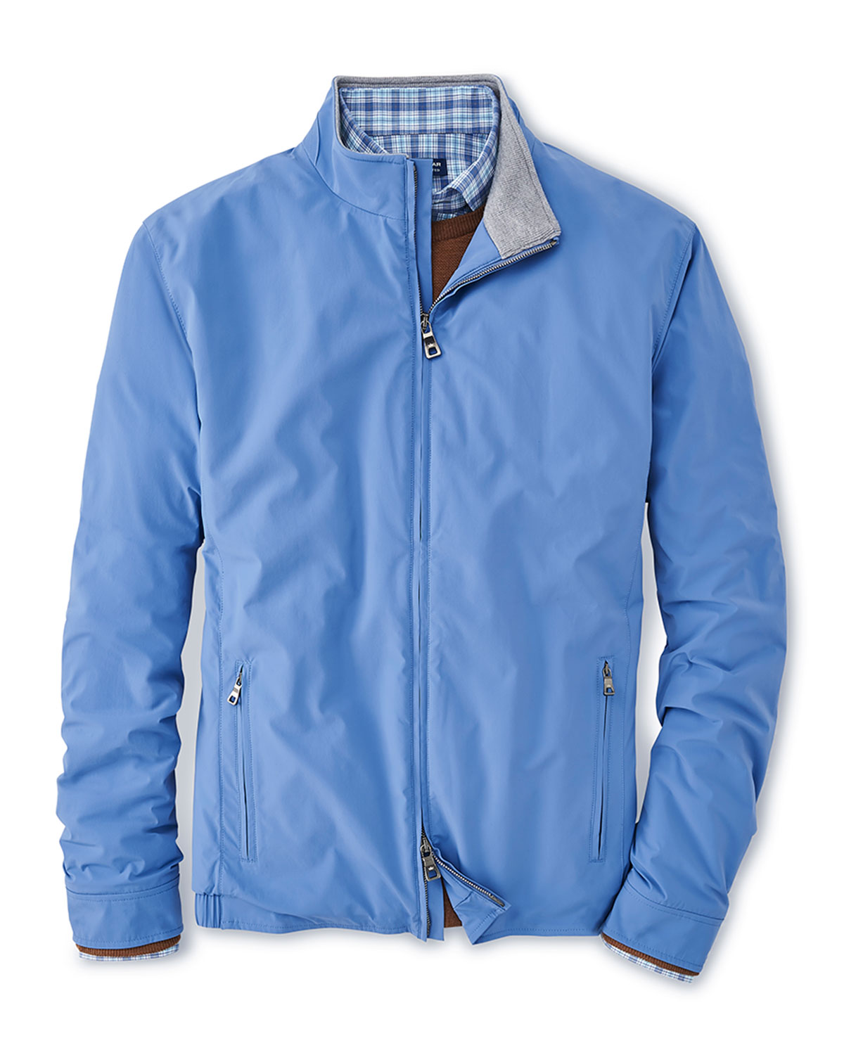 Peter Millar Men's Solid Stretch-Nylon Stealth Jacket