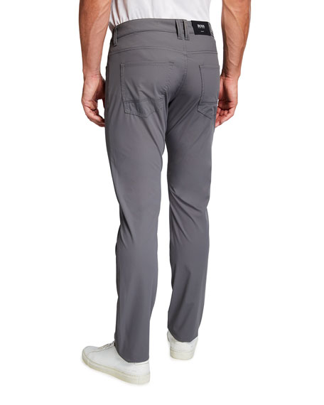 Image 2 of 3: BOSS Men's Slim-Fit 5-Pocket Tech Pants