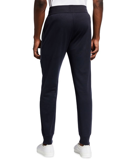 Image 2 of 3: BOSS Men's Two-Tone Pique Logo Track Suit Pants