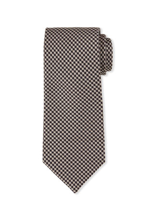 TOM FORD Men's Small Dots Silk Tie