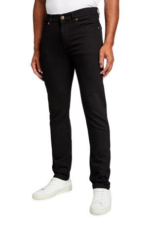Versace Men's Slim Dark-Wash Jeans