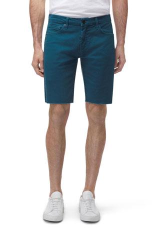 J Brand Men's Eli Over-Dyed Cutoff Jean Shorts