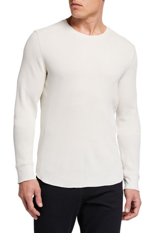 Vince Men's Solid Long-Sleeve T-Shirt