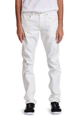Hudson Men's Blake Slim-Straight Distressed Jeans