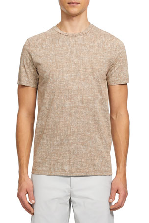Theory Men's Thorndon Basic Jersey T-Shirt