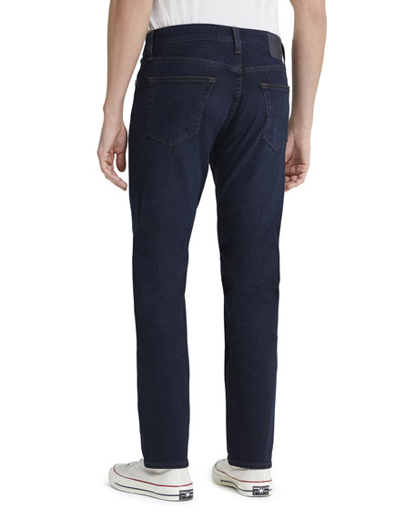 Image 2 of 2: AG Adriano Goldschmied Men's Everett Slim Dark-Wash Jeans