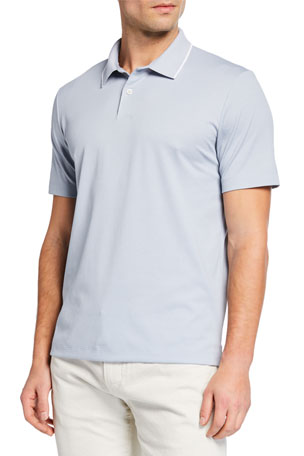 Theory Men's Standard Pique Polo Shirt