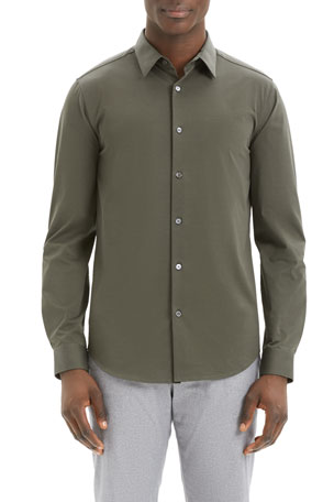Theory Men's Sylvain Structure Sport Shirt
