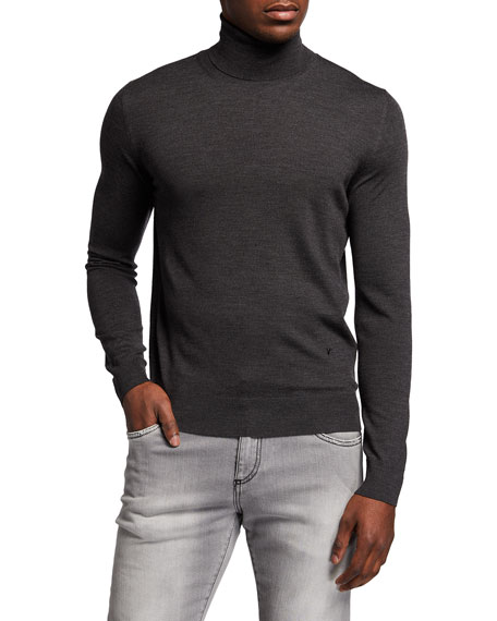 Image 1 of 2: Isaia Merino Wool Turtleneck Sweater