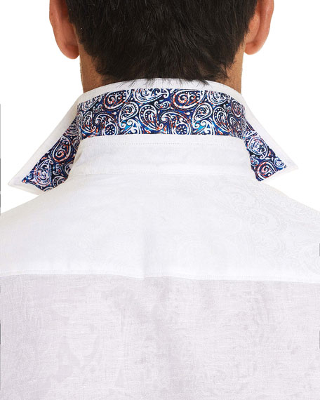 Image 3 of 3: Robert Graham Men's Eastern Beauty Graphic Sport Shirt