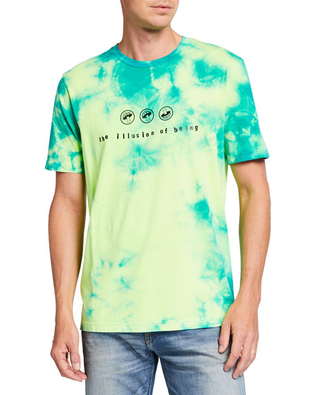 Image 1 of 2: Diesel Men's T-Just-Slits-X86 Tie-Dye Tee