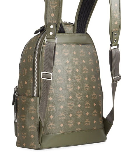 Image 3 of 3: MCM Stark 40 Visetos Backpack