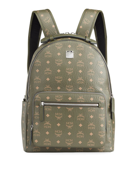 Image 1 of 3: MCM Stark 40 Visetos Backpack