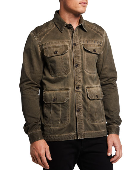 Image 2 of 3: G-Star Men's 4-Pocket Utility Overshirt