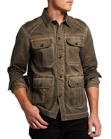 Image 1 of 3: G-Star Men's 4-Pocket Utility Overshirt