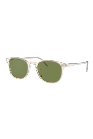 Oliver Peoples Men's Finley Vintage Round Acetate Sunglasses