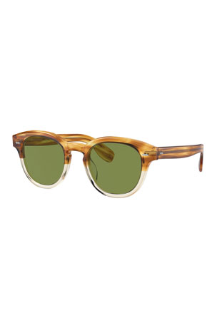 Oliver Peoples Men's Cary Grant Colorblock Sunglasses
