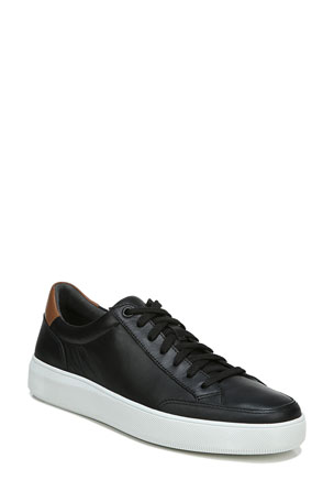 Vince Men's Dawson Leather Low-Top Sneakers