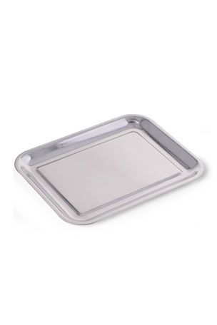 Bey-Berk Kelly Silver-Plated Valet Tray
