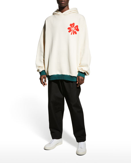 Marni Men's Blooming Graphic Pullover Hoodie