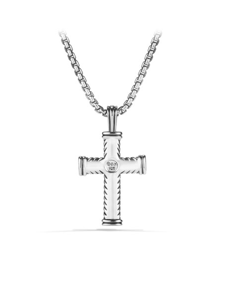 Chevron Cross on Chain