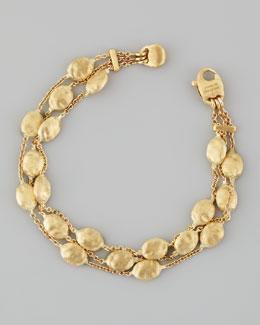 Marco Bicego Siviglia 18K Gold 3-Strand Bracelet