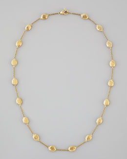 "Marco Bicego Siviglia 18K Gold Single-Strand Necklace, 16""L"