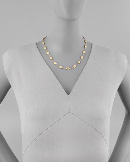 """Siviglia 18K Gold Single-Strand Necklace, 18""""L"""