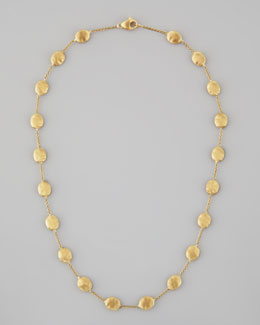 "Marco Bicego Siviglia 18K Gold Single-Strand Necklace, 18""L"