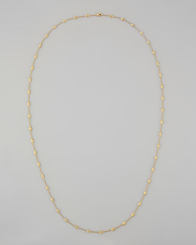 Siviglia 18k Gold Single-Strand Necklace, 39 1/4