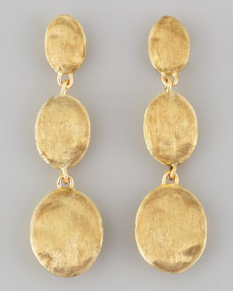 Marco Bicego Siviglia 18K Gold Drop Post Earrings