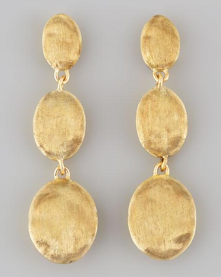 Marco Bicego Siviglia 18k Gold Drop Post Earrings Neiman