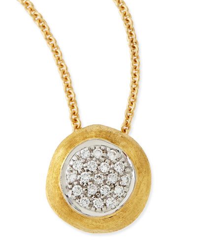 Delicati Jaipur 18k Diamond Pendant Necklace