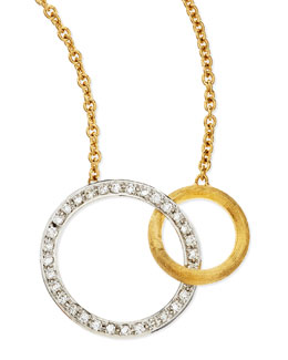 Marco Bicego Jaipur Diamond & 18k Gold Link Necklace