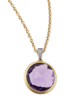 Marco Bicego Delicati Jaipur Amethyst Necklace with Diamonds