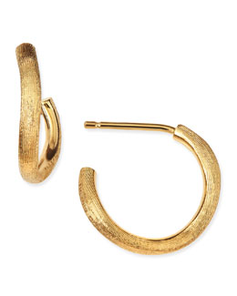 Marco Bicego Jaipur 18k Gold Hoop Earrings