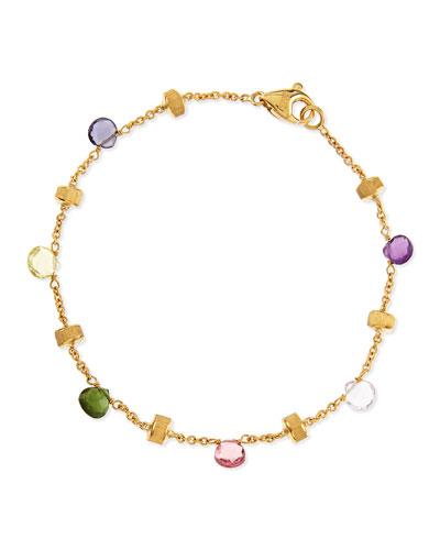 Marco Bicego Paradise 18k Gold & Mixed Semiprecious Stone Bracelet
