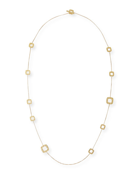 Roberto Coin Pois Moi 18k Gold Station Necklace,