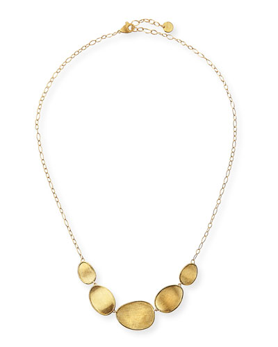 Marco Bicego 18k Gold Stone Bib Necklace