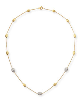 Marco Bicego 18k Gold Necklace with Diamonds