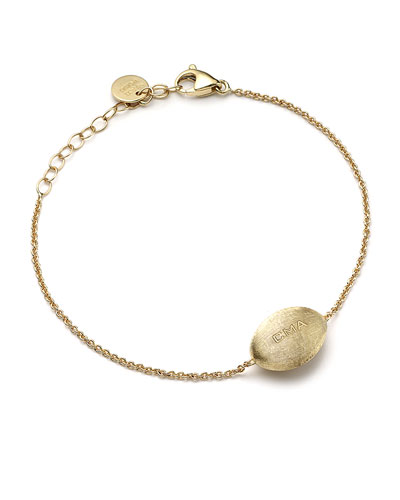 18k Gold Confetti Bead Custom Bracelet