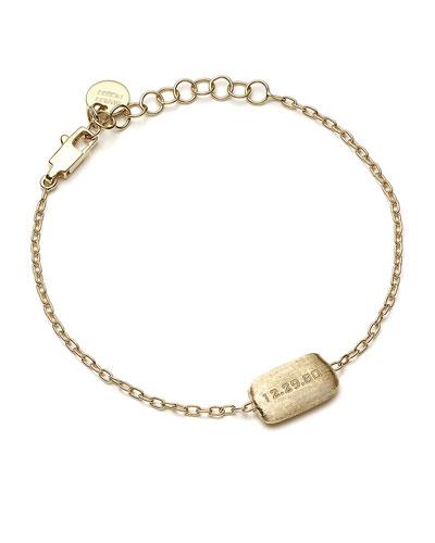 18k Gold Murano Bead Custom Bracelet