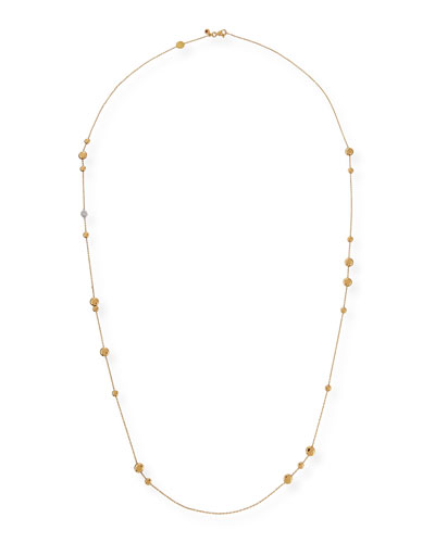 18k Gold & Diamond Classic Necklace, 35