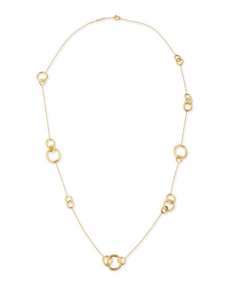 Marco Bicego Jaipur Gold Link-Station Necklace