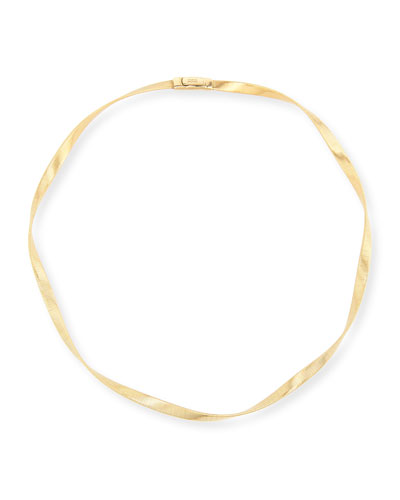 Marrakech Supreme 18k Single Strand Necklace