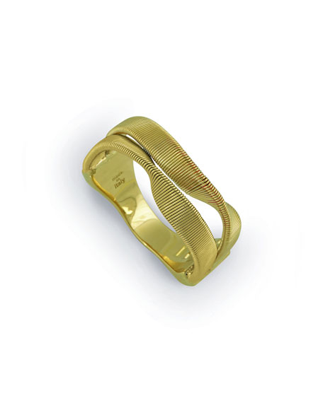 Marrakech Supreme Two-Strand 18k Gold Ring