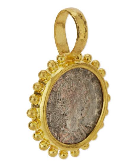 19K Roman Coin Pendant
